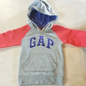 Size 4T GAP grey, purple and pink jumper